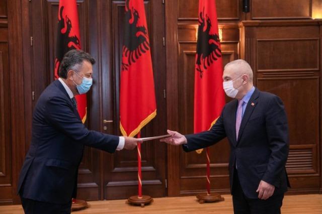Der albanische Staatspräsident, Ilir Meta, empfing den neuen mexikanischen Botschafter in Albanien