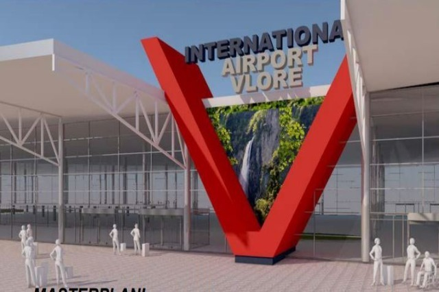 Mabetex group negotiates the contract for the Vlora airport