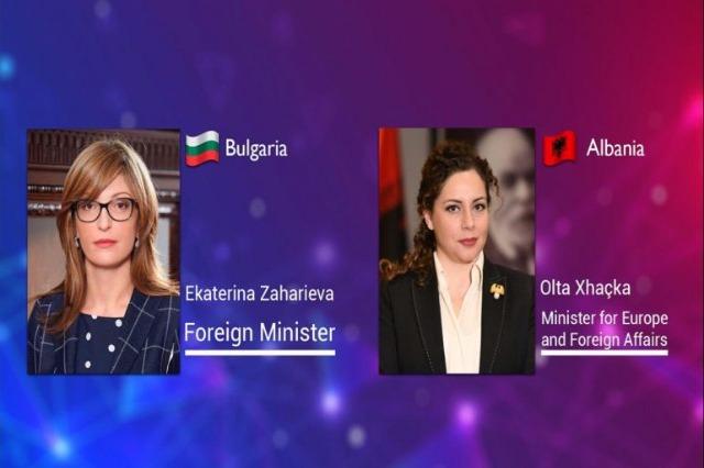 Die albanische Europa- und Außenministerin, Olta Xhaçka hat mit ihrer  bulgarischen Amtskollegin über die EU-Integration  telefonisch gesprochen