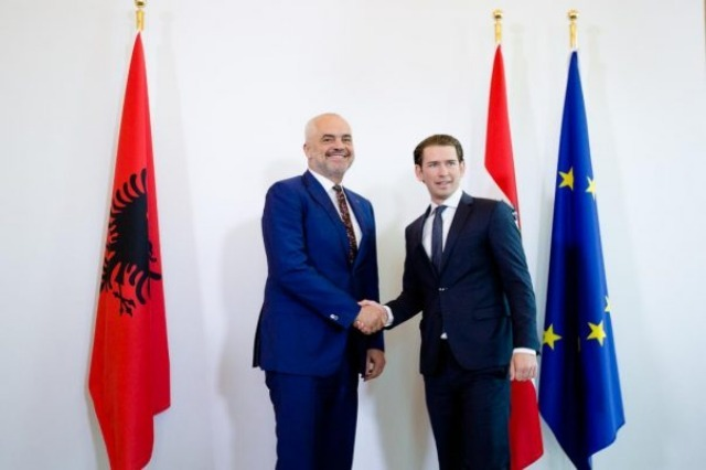 Kurz congratulates Rama on the elections: Support for Albania's EU membership!