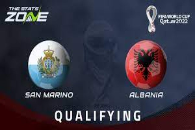 Albania won 0-2 in the transfer against San Marino