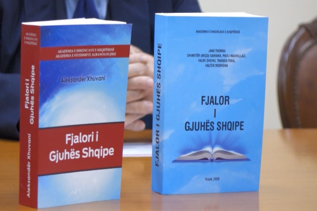 The Academy of Sciences promotes 2 dictionaries of the Albanian language