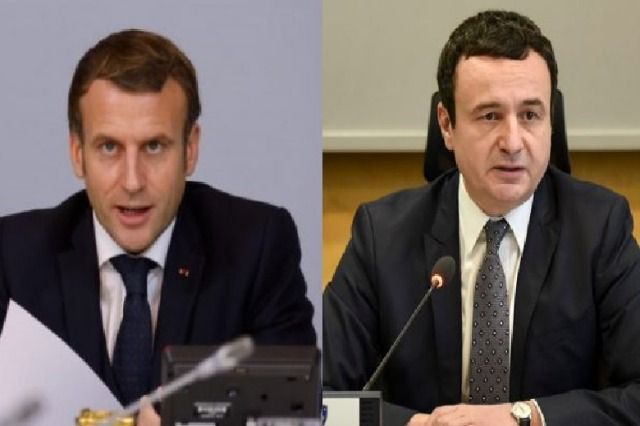 Macron letter to Kurti: The dialogue with Serbia should be continued, I will welcome you in Paris to talk about this topic