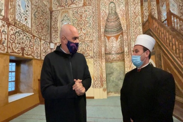 Et'hem Bey Mosque/ Pm Rama congratulates all Muslims on the occasion of the month of Ramadan
