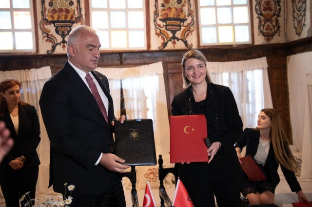 Albania-Turkey Agreement signed on art, cultural heritage and copyright