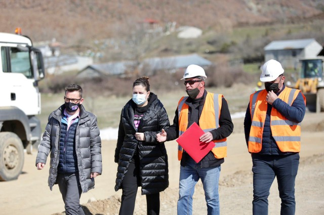 Work continues for the Korça-Erseka axis, Xhaçka: Impact on tourism and economy for every family
