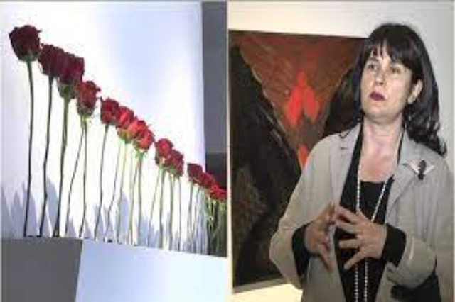 Artist Najada Hamza opens her personal exhibition in the gallery of the Academy of Fine Arts