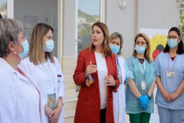 Erleichterte Touristensaison / Die Ministerin Manastirliu in Vlora: Sommer Gesundheitszentren am 15. Juni geöffnet werden