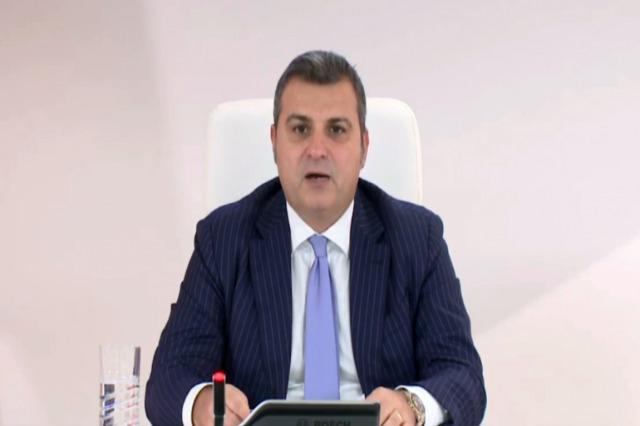 Der Gouverneur der albanischen Nationalbank spricht über die Wirtschafts- und Finanzlage in Albanien