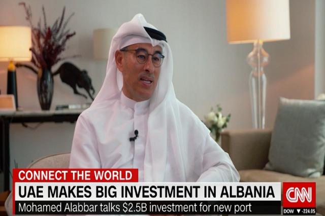 Mohamed Alabbar von EMAAR-Group spricht über  seine  Projekte in Albanien
