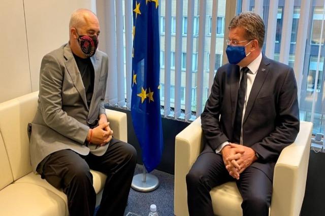 Ο Πρωθυπουργός Ράμα συναντήθηκε με τον Μίροσλαβ Λάιτσακ στις Βρυξέλλες