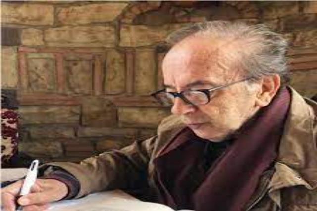 """Ismail Kadare, der weltbekannte albanische Schriftsteller, wurde mit dem Titel """"Ehre der Stadt Fieri"""" geehrt"""
