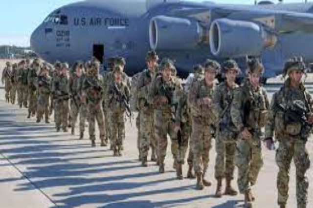US military vehicles continue to be deployed in Albania in the framework of NATO exercise