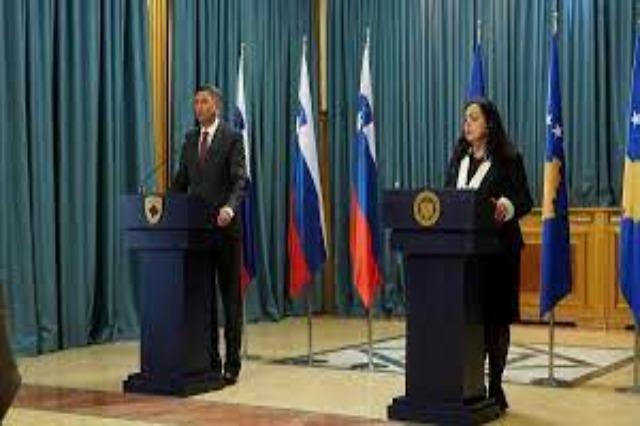 Slovenian President visits Kosovo: Western Balkans should be part of the EU