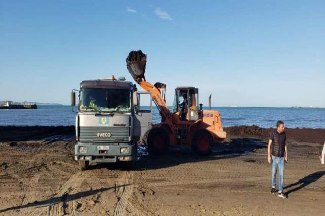 Turistička sezona, jednonedeljna akcija čišćenja obale Drača