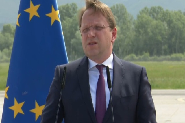 Varhelyi: Without a completed parliament, Albania can not move forward to the EU