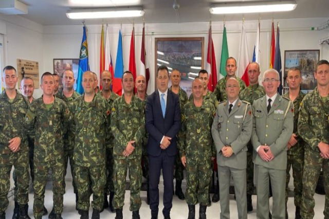 Peleshi in Latvia: We will continue to contribute to the NATO mission in northern Europe!