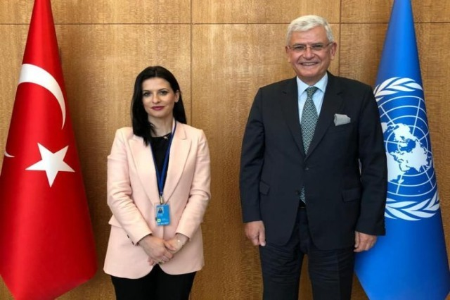 Minister of Justice Gjonaj held a meeting with President of the General Assembly of UN, Bozkir