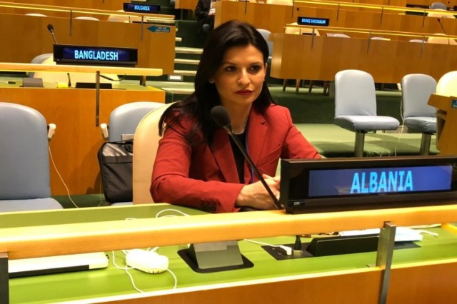 Minister Gjonaj at the special session of the UN General Assembly: Justice reform, a turning point in the fight against corruption