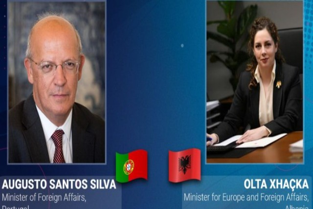 Xhaçka talks with Portuguese counterpart: We hope that the First Conference will take place as promised