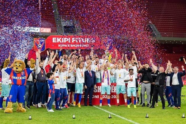 Vllaznia, pobednik albanskog kupa