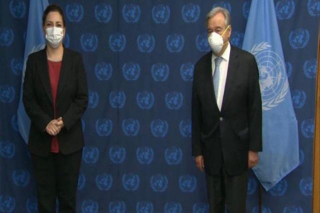Guterres receives Xhacka, praises Albania's role in the UN