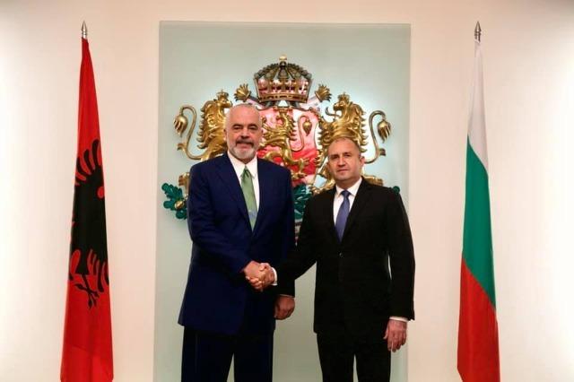 Pm Rama in Bulgaria, held a meeting with President Rumen Radev
