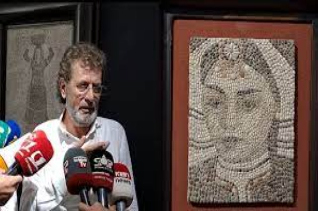 Visual Art, mosaic exhibition opens in Shkodra! Artist Myftar Cubi presents 50 works made of pebbles