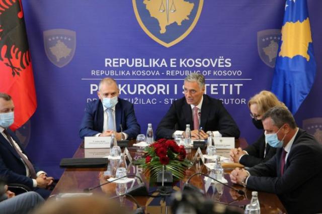 Arnavutluk - Kosova arasında organize suç, yolsuzluk ve kara para aklamayla mücadele konulu anlaşma imzalandı