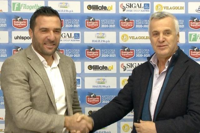 Orges Shehi wird auch in der nächsten Saison Coach von Sportklub Tirana sein