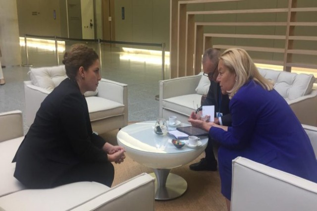Olta Xhaçka meets the Dutch Minister: The Netherlands supports the holding of the first Albania-EU Intergovernmental Conference