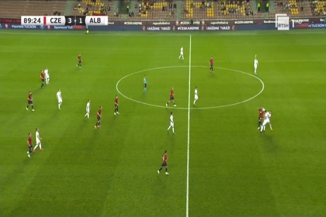 Albania loses friendly match against the Czech Republic