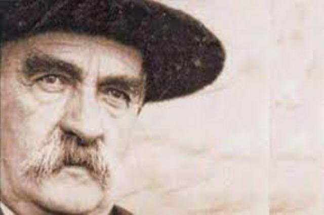 Albanian prominent classical poet Ndre Mjeda