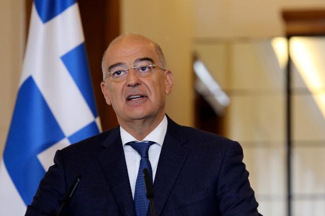 Ministre grec des Affaires étrangères, visite officielle à Pristina