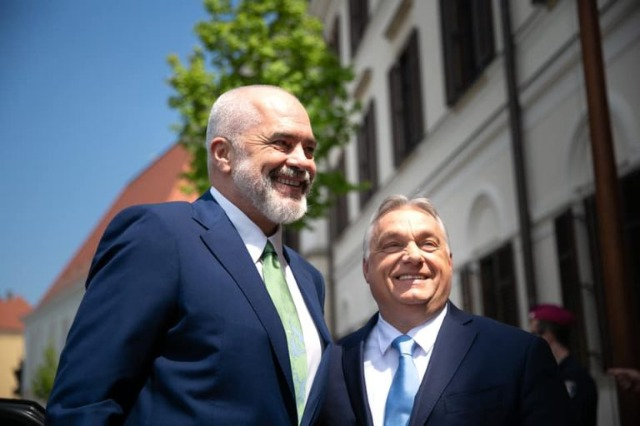 Rama meets Orban: Hungary is historically an unwavering supporter of Albania's European integration