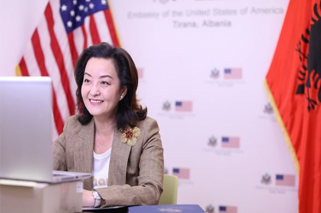 US ambassador Kim underlines the importance of the justice reform in Albania