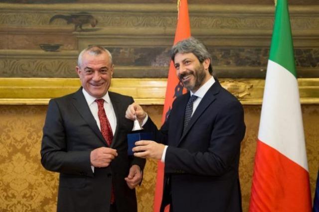 Speaker Ruçi sends congratulatory letter on the Republic Day of Italy