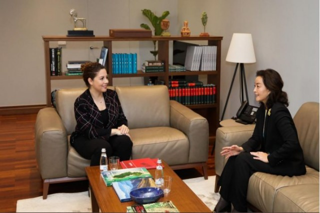 Xhaçka receives Ambassador Kim: Albania's vote in the Security Council, a historic opportunity for diplomacy