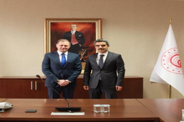 Arnavutluk -Türkiye : Gümrük yöneticileri Gazheli ve Gümüş ortak projeleri görüştü