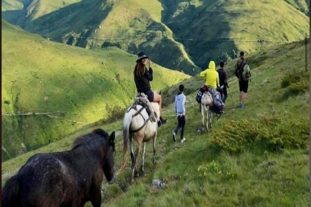 The trail of Colours in Kukes, main tourist destination for summer