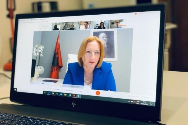 Minister of Finances Denaj held consultations with international partners