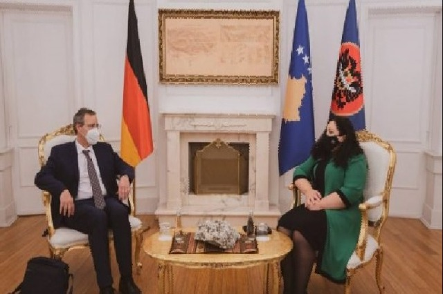 Osmani receives German Foreign Ministry Secretary: Germany in favor of visa liberalization