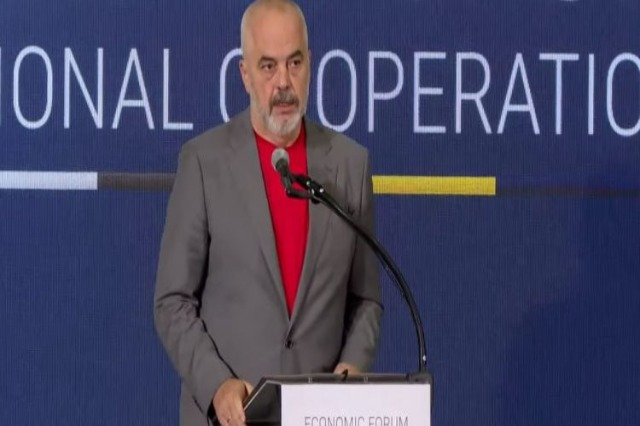 Rama in the Economic Forum: We do not want to live with the past, but project the future