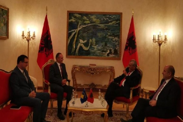 Ruçi received the Ambassador of Kosovo: Albania is by your side to face today's and future challenges, the EU is the only destination