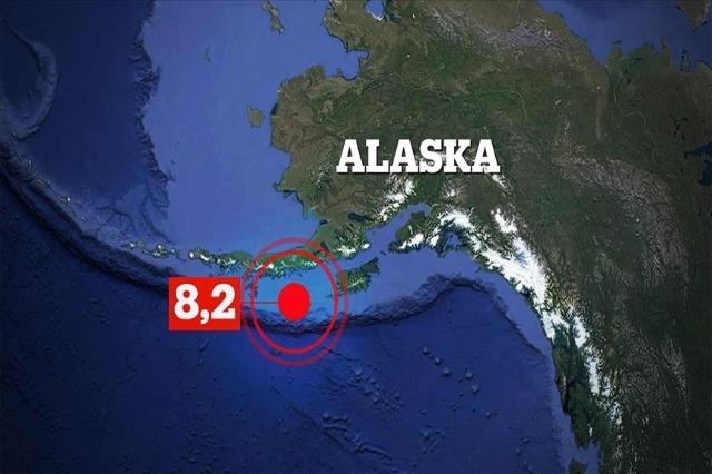 Zemljotres 8,2 stepena Rihterove skale kod Aljaske, upozorenje za cunami