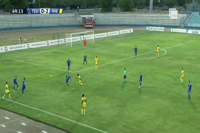 Champions of Teuta suffer a 0-4 loss against the champions of Moldova