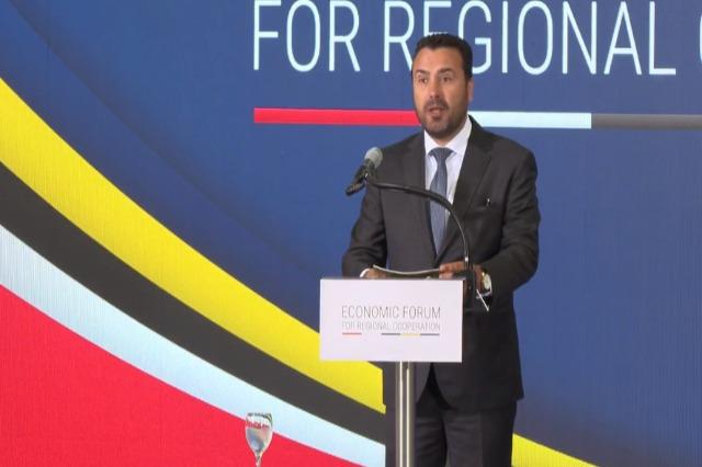 Zaev Üsküp Forumu'nda : Ülkelerimiz ilerlemeli !