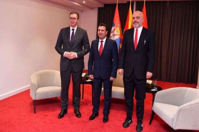 In Skopje findet heute und morgen das  Wirtschaftsforum über die regionale Zusammenarbeit statt