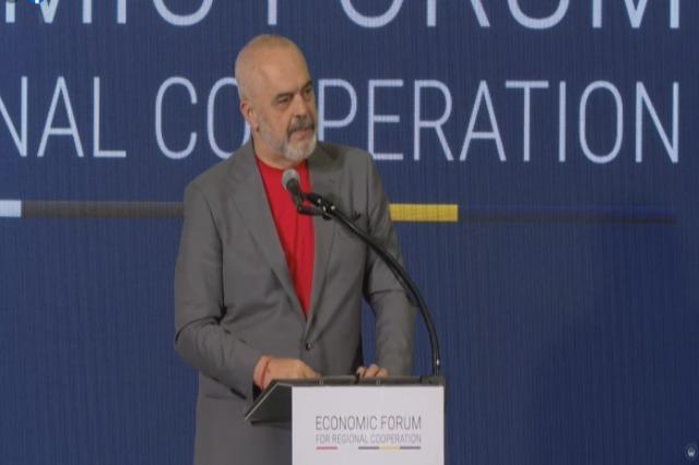 Edi Rama in Skopje: Wir haben viel Zeit verloren