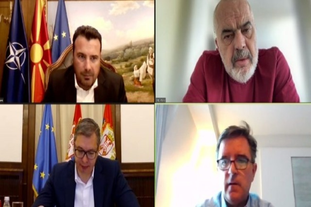 Rama, Vucic and Zaev meet online, ''This is the new Balkan''